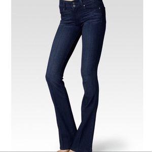 Paige Hidden Hills Dark Wash Denim Jeans Bootcut